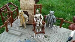 Vintage Kenner Star Wars Ewok Village 1983 Playset Ewok Action Figures Toy
