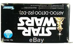 Vintage Kenner Star Wars Large 12 Artoo-Detoo R2-D2 Mint Sealed Box MISB AFA It