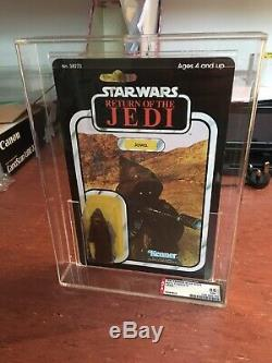 Vintage Kenner Star Wars ROTJ 77 Back Jawa MOC AFA 85 1983 Offerless Case Fresh