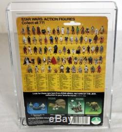 Vintage Kenner Star Wars ROTJ Boba Fett 77 Back-A AFA 50 Y-VG #12221380