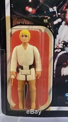 Vintage Kenner Star Wars ROTJ Luke Skywalker 77-Back AFA 85 (85-85-85)