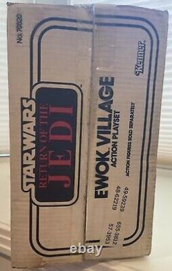 Vintage Kenner Star Wars Return of the Jedi Ewok Village Action Playset withBox