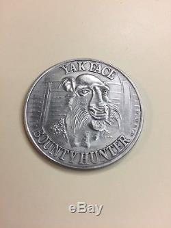 Vintage Kenner Star Wars Yak Face Coin POTF Last 17 1984
