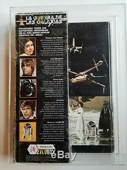 Vintage Lili Ledy Star Wars 1978 Tusken Raider MIB AFA NG with COA
