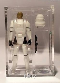 Vintage Loose Star Wars Potf Luke Skywalker Stormtrooper Afa U85! Just Graded