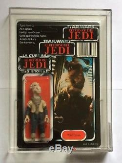 Vintage Palitoy Star Wars Rotj Trilogo Yak Face Afa 80+ (85/80/85) Moc Rare