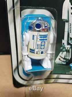 Vintage R2-D2 12-Back Kenner Star Wars Figure 1977