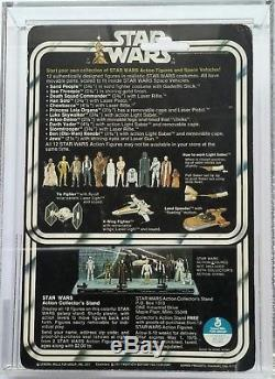 Vintage Star Wars 12 Back Luke Skywalker Farmboy Afa 80 (80/80/80)! Superb Moc