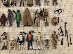 Vintage Star Wars 1977-1984 Figures Lot. Includes Original 12! No Repro