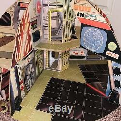 Vintage Star Wars 1977 Palitoy Death Star Playset Complete Good Condition