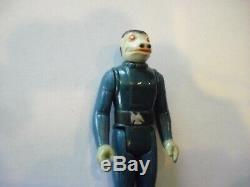 Vintage Star Wars 1978 Blue Snaggletooth Action Figure Original No Weapon
