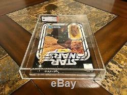 Vintage Star Wars 1978 Kenner Vinyl Cape Jawa 12 Back Action Figure Afa 85 Rare
