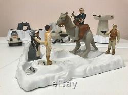 Vintage Star Wars 1979-1981 Empire Strikes Back Lot Of 17 AT AT Hoth Base Probot