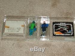 Vintage Star Wars 1979 AFA 80 RARE BLUE SNAGGLETOOTH GREEDO SEARS CATALOG MAILER