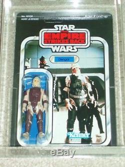 Vintage Star Wars 1980 Kenner CAS 85 DENGAR ESB 41 BACK CARD MOC UNPUNCH NOT AFA