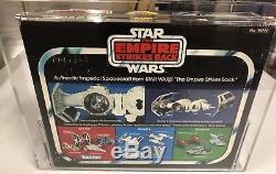 Vintage Star Wars 1980 Kenner ESB TIE BOMBER Die cast AFA 60! Premium Rare Item