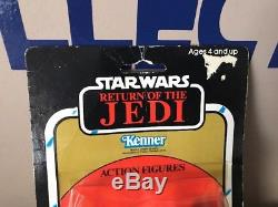 Vintage Star Wars 1983 2-PACK ADMIRAL ACKBAR PRUNE FACE ROTJ KENNER Sealed