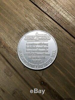 Vintage Star Wars 1984 POTF Coin Yak Face Kenner Last 17