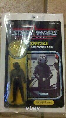 Vintage Star Wars 1985 KENNER IMPERIAL GUNNER POTF 92 Card Back MOC