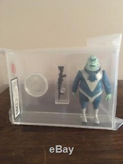 Vintage Star Wars 1988 Graded Droids GLASSLITE VLIX with Prototype Coin UKG 75%