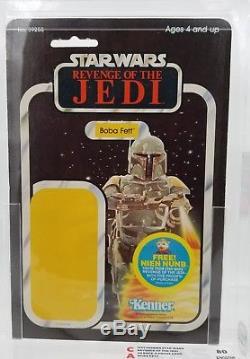Vintage Star Wars 48 Back Boba Fett Stunning REVENGE Of The Jedi Proof Card 80