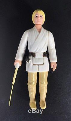 Vintage Star Wars'A' Lettered DT Luke Skywalker Farmboy Double-Telescoping
