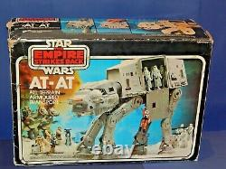 Vintage Star Wars AT-AT Walker Complete with Box working Electrics