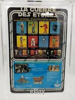 Vintage Star Wars Action Figure 20 Back Boba Fett Canadian La Guerre Des Etoiles