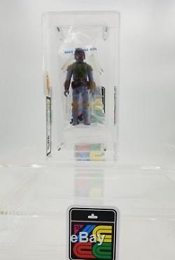 Vintage Star Wars Action Figure Boba Fett Palitoy C Baggie UKG90 GOLD Graded