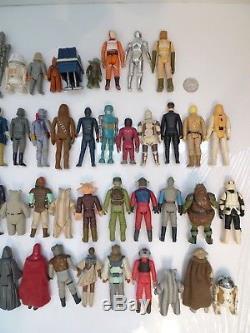 Vintage Star Wars Action Figure Lot FIRST 77 Different Figures 1977 -1983 KENNER