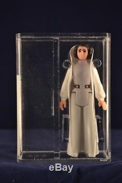 Vintage Star Wars Action Figure Princess Leia Organa Loose AFA 85 Near Mint ANH