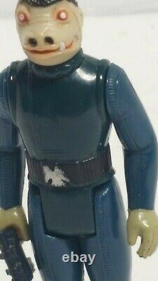 Vintage Star Wars BLUE SNAGGLETOOTH NO DENT 1978 Complete Kenner original