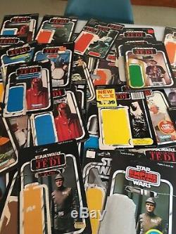 Vintage Star Wars Backing Cards Job Lot