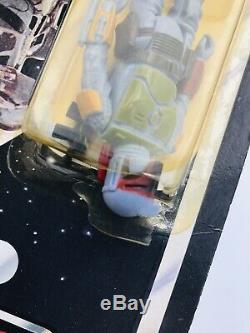 Vintage Star Wars Boba Fett MOC ROTJ Nien Nunb Offer 48 D Back Return The Jedi