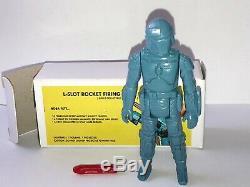 Vintage Star Wars Boba Fett Rocket Firing reproduction Prototype with Box