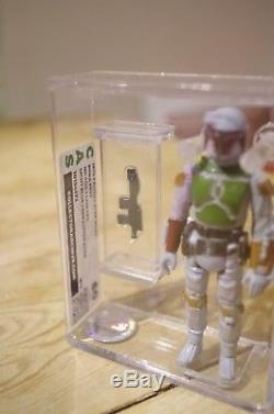 Vintage Star Wars Boba Fett Trilogo Variant CAS Graded Not AFA/UKG