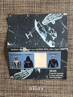 Vintage Star Wars CHEWBACCA ESB-d Sealed Baggie & Young Jedi Mailer Letter
