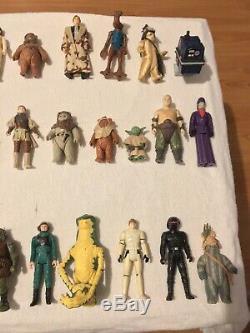 Vintage Star Wars Collection Last 17 Job Lot