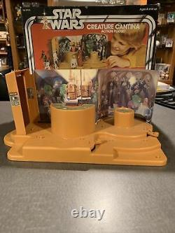 Vintage Star Wars Creature Cantina Action Playset COMPLETE no instructions Lot