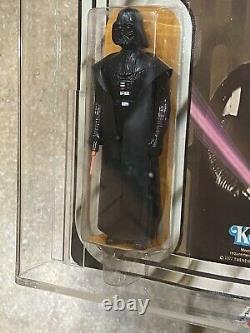 Vintage Star Wars Darth Vader Moc 12 Back A Unpunched Afa 60