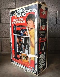 Vintage Star Wars Death Star playset withbox & foam + bonus Darth Vader figure