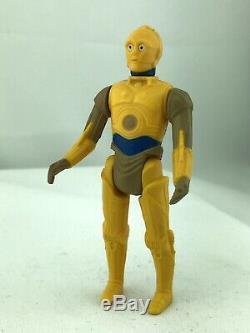 Vintage Star Wars Droids Action Figure C-3PO 1985 Kenner