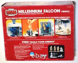 Vintage Star Wars ESB 1982 Kenner Micro Collection Millennium Falcon Sealed Box