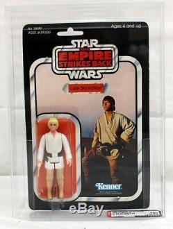 Vintage Star Wars ESB 41 Back-E (Farmboy) Luke Skywalker Figure AFA 75+ EX+/NM #