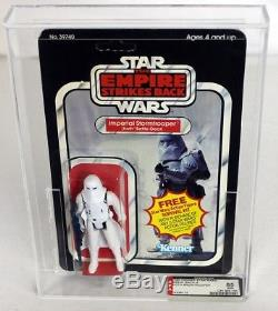 Vintage Star Wars ESB Carded Imperial Stormtrooper (Hoth Battle Gear) AFA 85