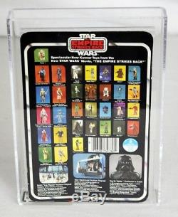 Vintage Star Wars ESB Carded Luke (Bespin Fatigues) AFA 85 NM+ #13499548