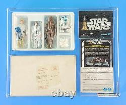 Vintage Star Wars Early Bird Transition Set (with Dt Luke) Afa 80 Nm Ultra Rare