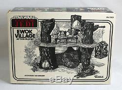 Vintage Star Wars FACTORY SEALED Ewok Village Kenner 1983 MISB
