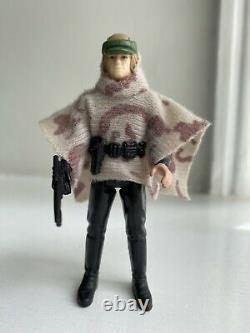 Vintage Star Wars Figure Luke Skywalker Last 17 Endor Battle Poncho (2)