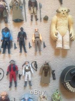 Vintage Star Wars Figures Job Lot All Original Guns Last 17 No Reproduction